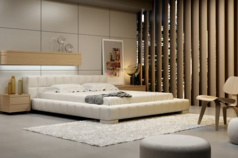 Łóżko tapicerowane LORENZO NEW