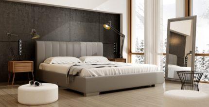 Propozycje łóżek tapicerowanych, cz. 4: do sypialni w stylu glamour