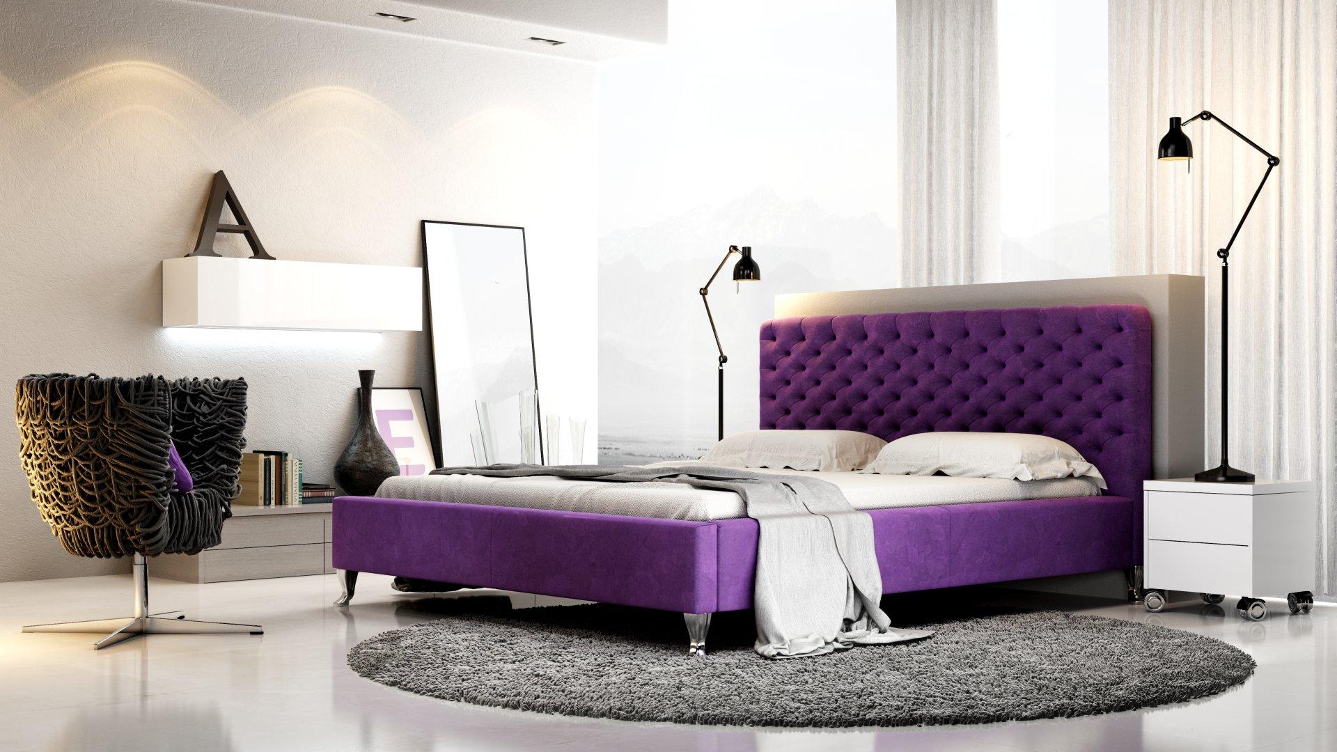 łóżko tapicerowane lazio na wymiar