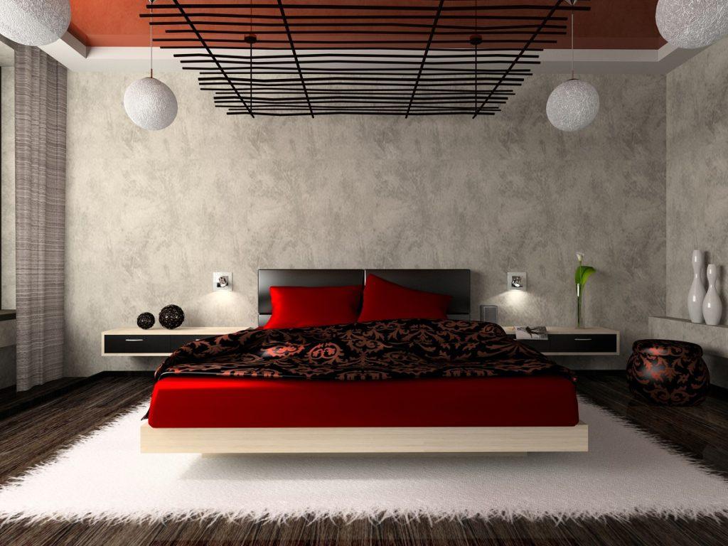 Designerskie nowoczesne łóżko przeznaczone dla młodzieży