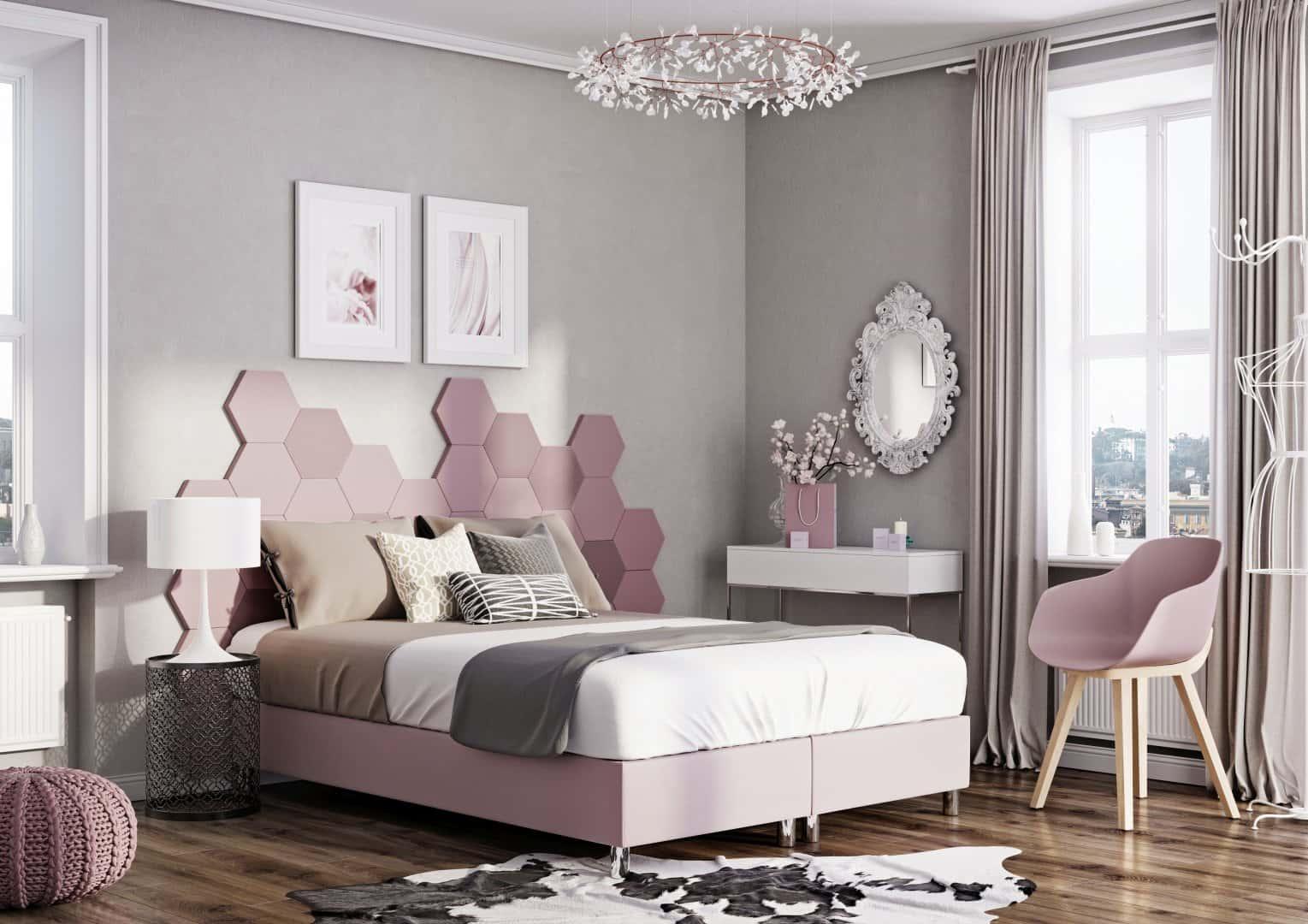 Łóżko tapicerowane RAMA KONTYNENTALNA
