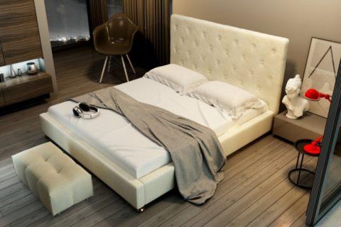 Łóżko tapicerowane AVANTI