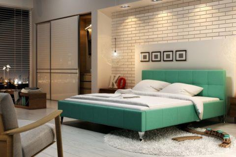 Łóżko tapicerowane FUTURA
