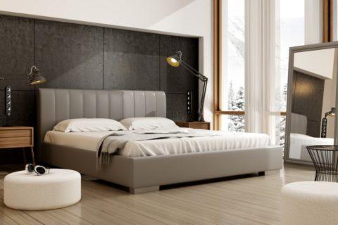 Łóżko tapicerowane NAOMI