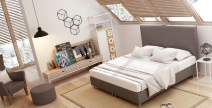 Optymalne wykorzystanie przestrzeni wmałej sypialni