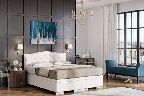 Łóżka tapicerowane BEAUTY