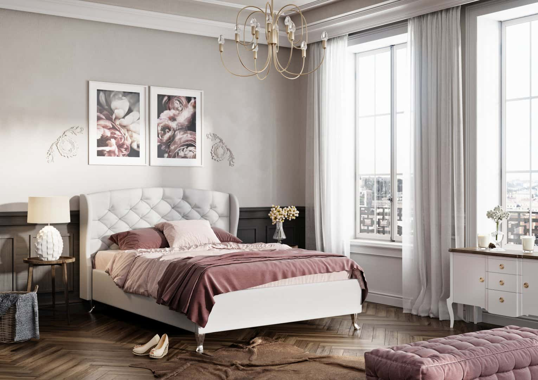 Łóżko tapicerowane Genua extra