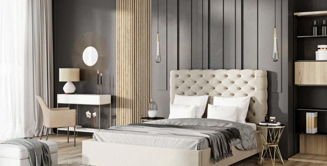 Łóżko tapicerowane Lazio_extra