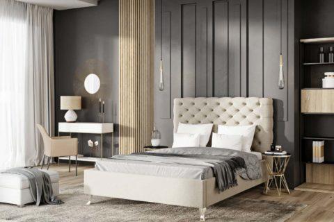 Łóżko tapicerowane LAZIO EXTRA