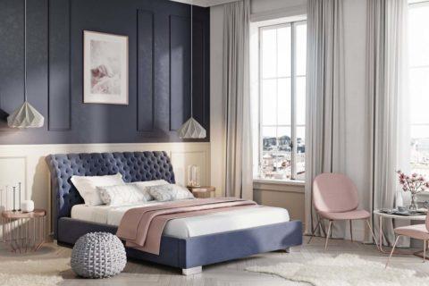 Łóżko tapicerowane LAZIO PRESTIGE