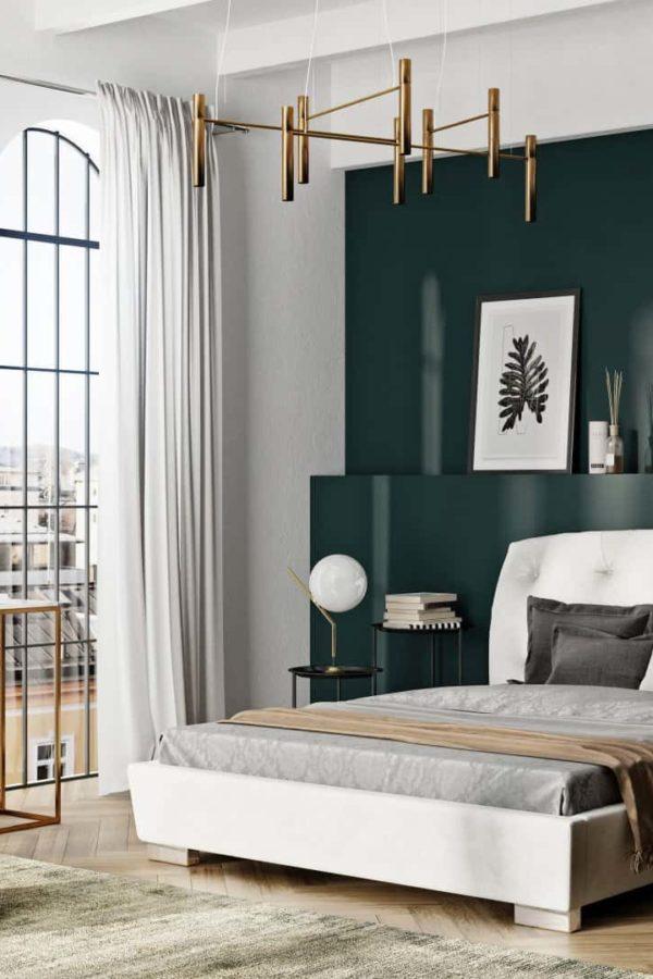 Łóżko tapicerowane VERONA