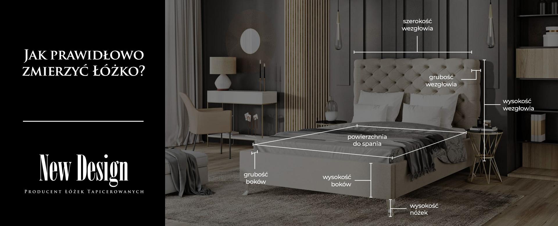 Jak prawidłowo zmierzyć łóżko?